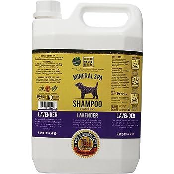 RELIQ Mineral SPA Shampoo for Dogs, 1-Gallon, Lavender