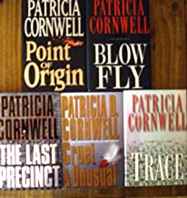 """Patricia Cornwell Collection (Set of Five Books) Cruel and Unusual,Point of Origin,The Last Precinct, Blow Fly, Trace (""""Ka..."""