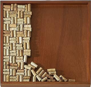 Wine Enthusiast DIY Wine Cork Board Frame Kit