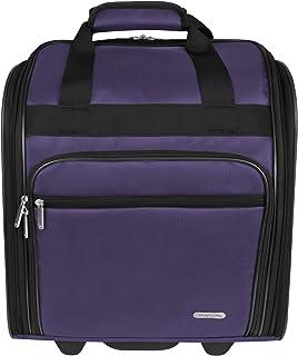 Travelon Wheeled Underseat 15 Inch, Purple (Purple) - 84048 150