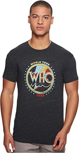 The Who Short Sleeve Tri-Blend Tee