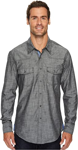 Rock and Roll Cowboy - Long Sleeve Snap B2S3133