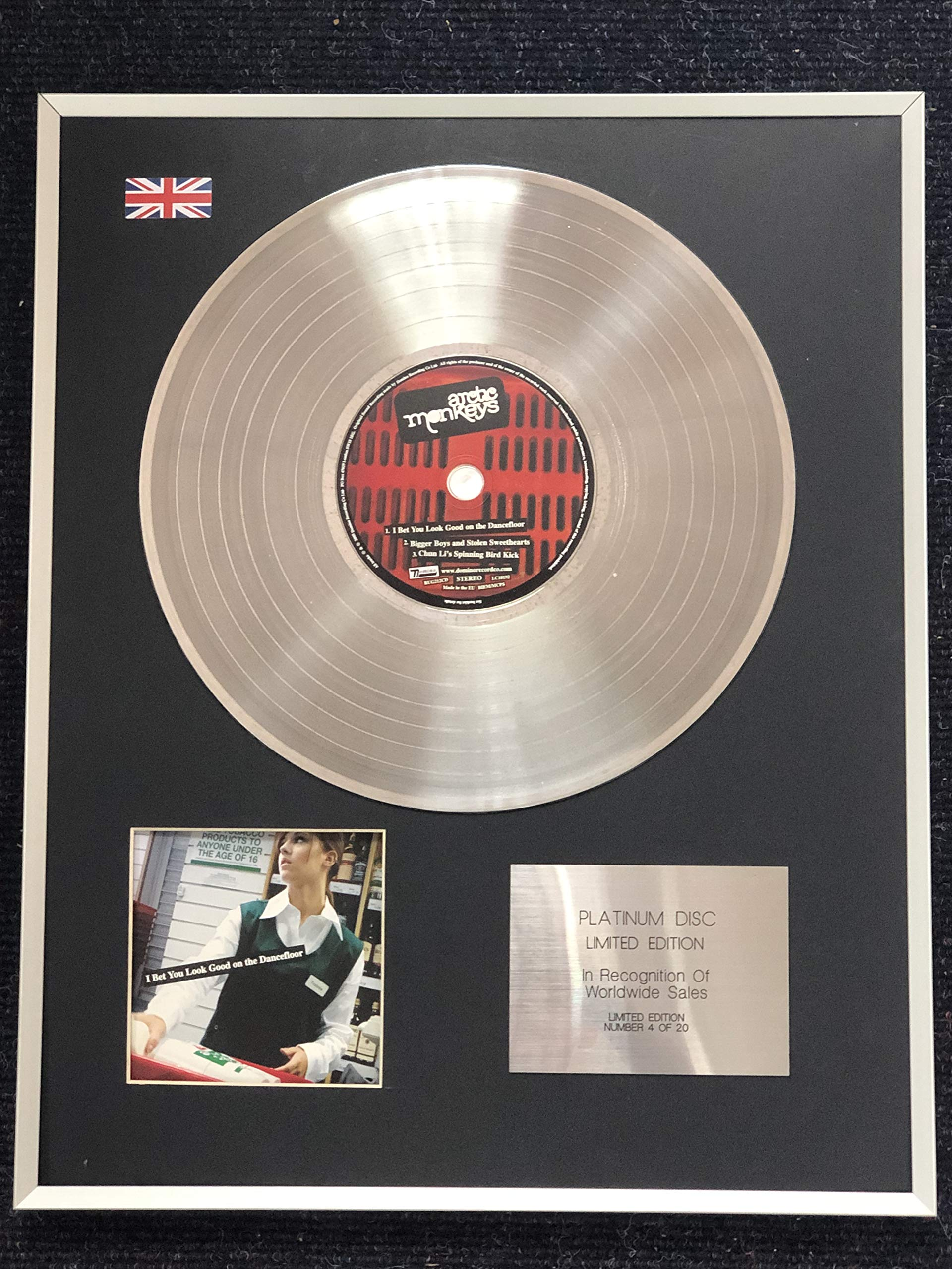 Century Music Awards – Arctic Monkeys – Edición Limitada Platinum ...