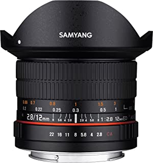 Samyang 12mm F2.8 ED AS NCS Fish-Eye Manual Focus Lens for Fuji X