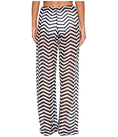 Luli Fama El Malecon Beach Pant Cover-Up Marino Find Great Sale Online U8TED3Z3
