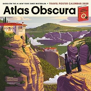 Atlas Obscura Wall Calendar 2020 [12