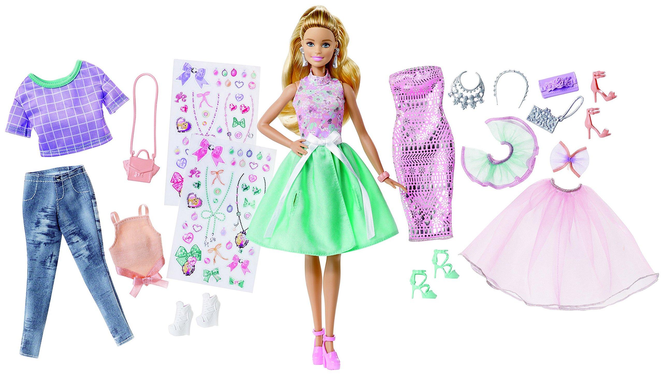 Amazon.es: Barbie Fashion Activity Gifset con Ropa: Juguetes y juegos