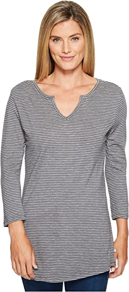 Charcoal Heather Stripe