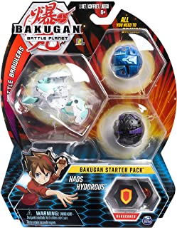 BAKUGAN- Starter Pack Modelo 3, 6055439, Multicolor