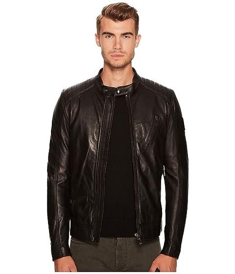 BELSTAFF V Racer New Tumbled Leather Jacket
