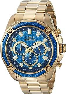 Invicta Men's 'Aviator' Quartz Stainless Steel Casual Chronograph Watch
