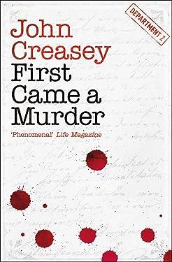 First Came a Murder (Department Z Book 3)