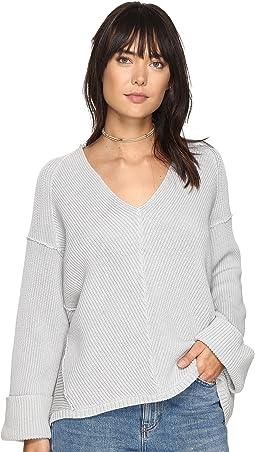 Free People - La Brea V-Neck Sweater