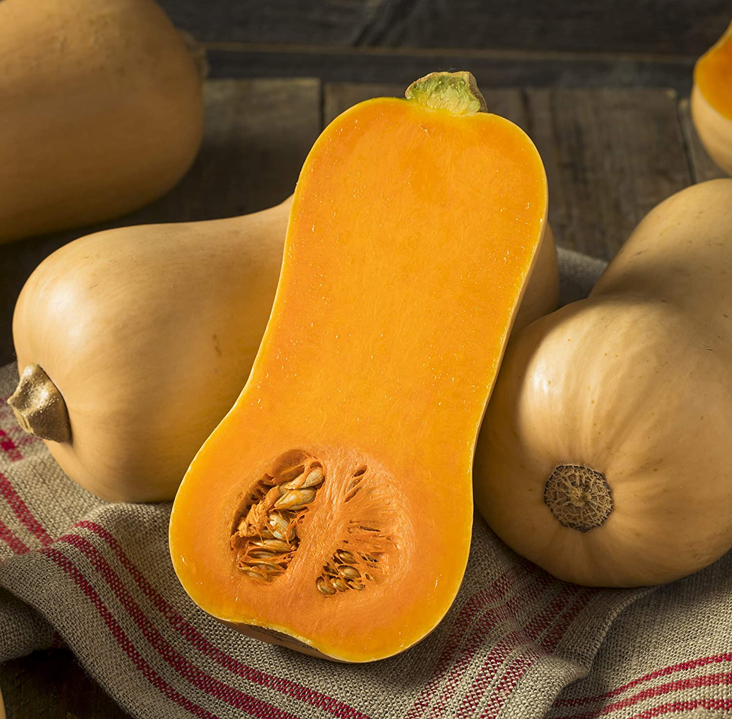 Max 68% OFF Sweet Yards Seed Co. 70% OFF Outlet Organic Squash Seeds 'Waltha Butternut