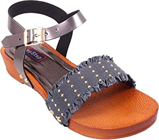 Honey Step Women's Synthetic Leather Sandals