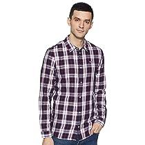 [Size XXL] Tommy Hilfiger Men's Slim fit Casual Shirt