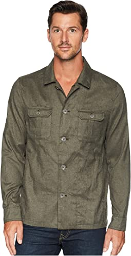 Heather Military Shirt Jacket