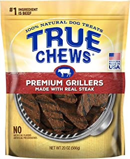 True Chews Premium Grillers Made with Real Steak