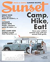 Sunset Magazine May June 2019 - Great Gear - New Boots - Camp, Hike, Eat - Packs & Coolers - Ultimate Road Trips - Best Camp Sites - Have your wildest summer ever with our annual field guide.