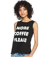 More Coffee Please Cotton Slub Tank