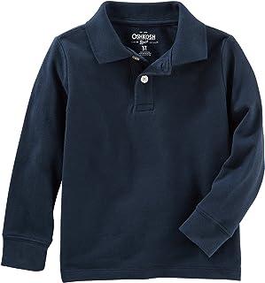 OshKosh B'Gosh Boys' Long Sleeve Uniform Polo