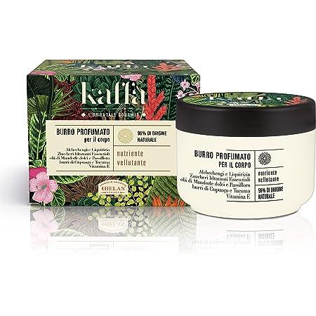 Helan - Kaffa Burro Profumato Nutriente Vellutante per il corpo, 200ml