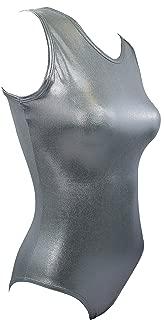 Sookie Active Metallic Sheen Classic Tank Leotard (Ladies)