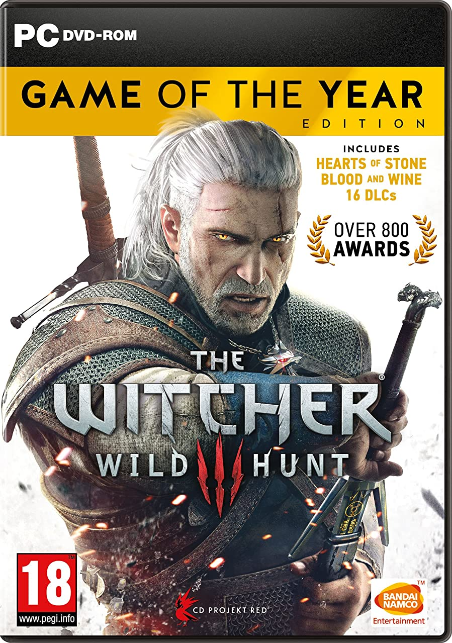 銀河専門用語キルスThe Witcher 3 Game of the Year Edition (PC DVD) (輸入版)