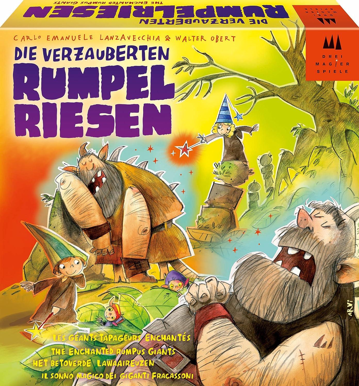 Schmidt Spiele 40870 - Die verzauberten Rumpelriesen, Kinderspiel B00AOZVL0E Sofortige Lieferung | Die Königin Der Qualität