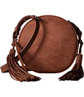 AllSaints - The Kepi Leather Round Crossbody