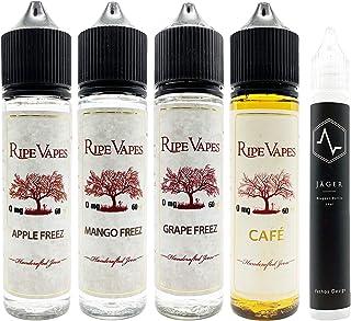 RIPE VAPES/CAFE/Grape Freez/Mango Freez/Apple Freez 60ml WVSJ15mlボトル付き ライプベイプス カフェ グレープフリーズ マンゴーフリーズ アップルフリーズ 電子タバコ リキッド V...