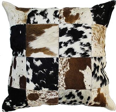 Amazon.com: Almohada de vaca Tricolor Vaca Ocultar Cojín ...
