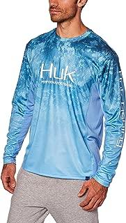 HUK Men's Icon X Camo Fade Shirt