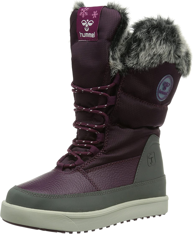 Hummel Snow Boot Jr Fur Lace 63-553-3388, Girls' Boots
