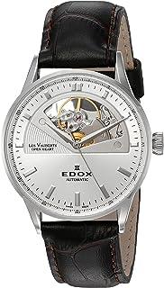 EDOX - 85019 3A AIN - Reloj de Pulsera Mujer, Color Negro
