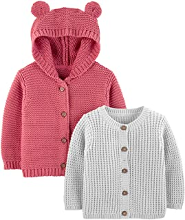 Simple Joys by Carter s Baby 2-Pack Knit Cardigan Sweaters 461a5f881