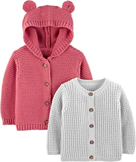 Simple Joys by Carter's Baby Lot de 2 cardigans tricotés