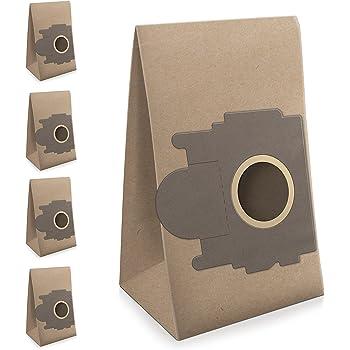 ✧WESSPER® Bolsas de aspiradora para Moulinex Powerclean AK5 (5 piezas, papel): Amazon.es: Hogar