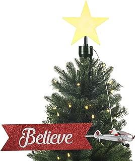 flying plane christmas tree topper