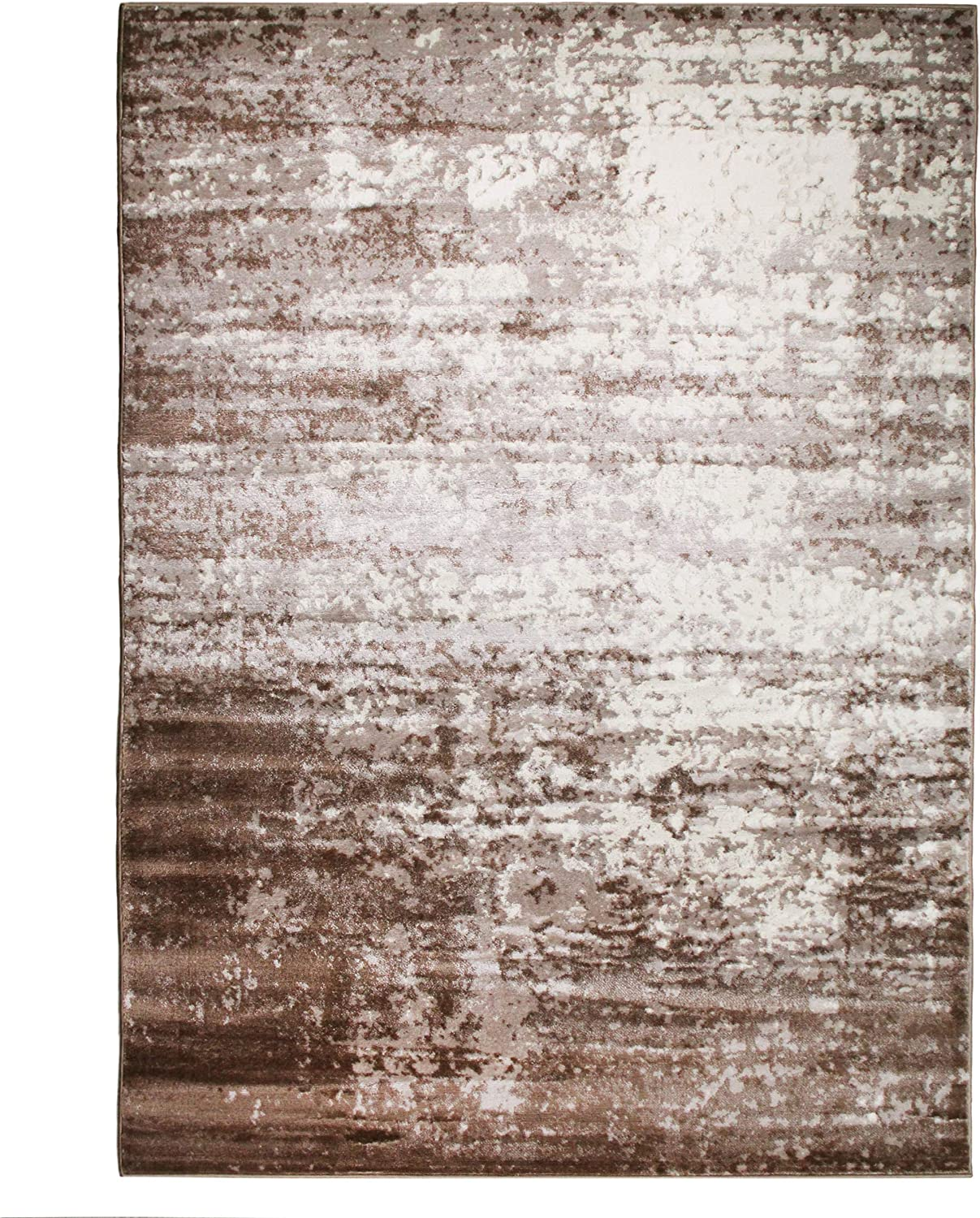 Free shipping anywhere in the nation SUPERIOR Allena Acid Import Wash Modern Indoor Rug 5X8 Area Gradient