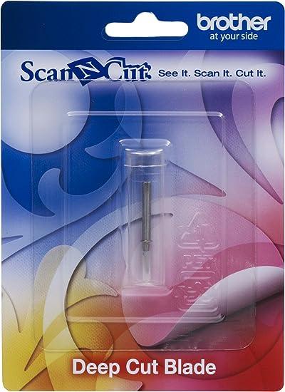 Brother CABLDF1 Scan-N-Cut - Cuchilla para Cortes Profundos, Color Plateado: Amazon.es: Oficina y papelería