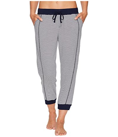 Splendid Always Crop Lounge Jogger (Lakeside Stripe) Women