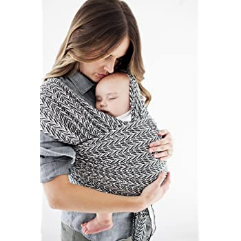 Moby Wrap Baby Carrier   Evolution   Baby Wrap Carrier for Newborns & Infants   #1 Baby Wrap   Baby Gift   Keep Baby Safe & Secure   Adjustable for All Body Types   Starry Nights of Salvador
