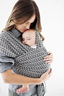 Moby Wrap Evolution (Starry Nights of Salvador by Petunia Pickle Bottom) - Baby Wrap for Parents On The Go - Carrier for Newborns, Infants, and Toddlers - Wrap Ideal for Baby Wearing & Breastfeeding
