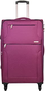 Murano Polyester 28 inches Wine Hardsided Cabin Luggage (9120014_KW)