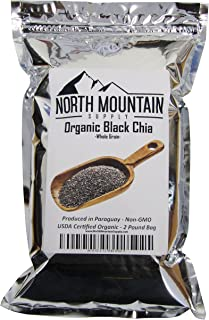 North Mountain Supply Organic Black Chia - Produced in Paraguay