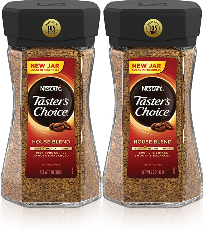 Nescafe Taster S Choice House Blend Instant Coffee 7 Ounce Pack Of 2