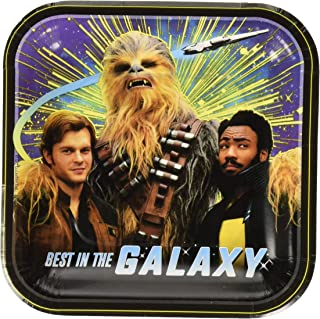 American Greetings Solo: A Star Wars Story Paper Dessert Plates, 8-Count