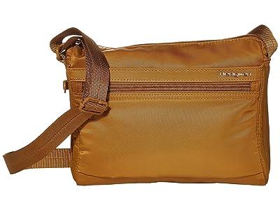 Hedgren Eye RFID Shoulder Bag (Bronze) Shoulder Handbags