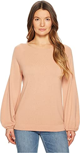 Vince Scrunch Sleeve Top